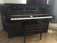 Piano Kemble K109 SG2 Silent Upright + stool