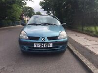 Diesel Renault Clio expression, only £30 road tax for the year,Low mileage,1 former owner, long MOT.