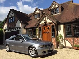 2005 BMW 318 CI M SPORT COUPE 5 SPD MANUAL, FULL HISTORY, LOW MILEAGE