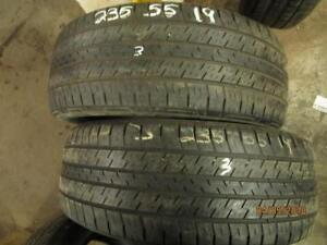 235/55R19 CONTINENTAL 4X4 CONTACT USED TIRES