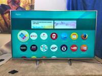 """Panasonic 50"""" TX-50DX700B 4K HD4 SMART 3D LED TV."""