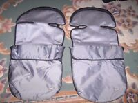 Pair of Mothercare cositoes for double buggy.