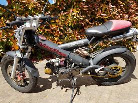Sachs MadAss 50 / 90 / 125 cc Pit Bike Moped 4 speed manual Upgraded
