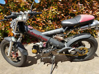 Sachs MadAss 50 / 90 / 125 cc Pit Bike Moped 4 speed manual Upgraded