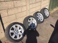 Genuine BMW 17 inch alloys