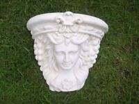 Large Ceramic Wall Feature/Ornament. 27cm's x 32cm's. Good Condition.