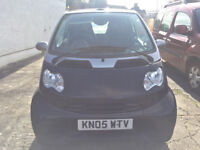 SMART PASSION FORTWO SPEED AUTO, CONVERTIBLE 2005 LPG & PETROL DUAL FUEL