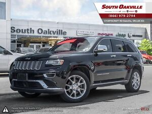 2014 Jeep Grand Cherokee Summit | IMMACULATE | DUAL-ROOF