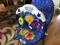 Fisher price baby vibration