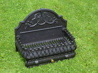 Spanish style cast iron Fire Basket / Grate