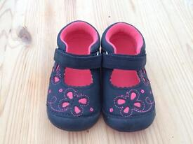Mothercare First walkers Butterfly Shoes Size 4