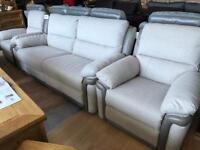 New/Cancelled order** Top quality fully reclining suite - Absolute Bargain
