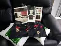 Catherine Lansfield Matching Curtains and Single Bedding
