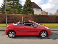 Peugeot 207 CC 1.6 16v Sport 2dr,cheap must go,summer chill pack