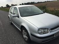 Volkswagen Golf mark 4 53 plate 2003 1.9tdi match tdi