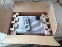 SKY BOX Built-in WiFi, FULL HD 3D, WITH GENUINE REMOTE & POWER CABLE. SCRATCH LESS, LIKE NEW.