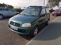 ** Reliable 2002 Suzuki Ignis 1.4 Long Mot,Service history .Factory Alloys