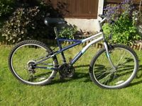 "Apollo ""Gradient"" Mountain bike, 26"" Alloy wheels, 17"" lightweight frame, 18 Shimano gears"