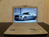 ACER ASPIRE 5920G NVIDIA HDMI 640GB HDD WEBCAM WIN 7 4GB RAM