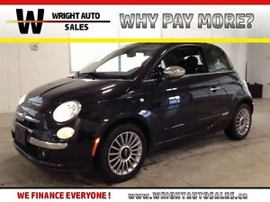 2013 Fiat 500 LOUNGE| CONVERTIBLE| LEATHER| HEATED SEATS| BLUETO