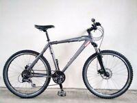 "(2690) 26"" 20"" Lightweight Aluminium CLAUD BUTLER MOUNTAIN BIKE BICYCLE DISC BRAKES Height:173-188cm"