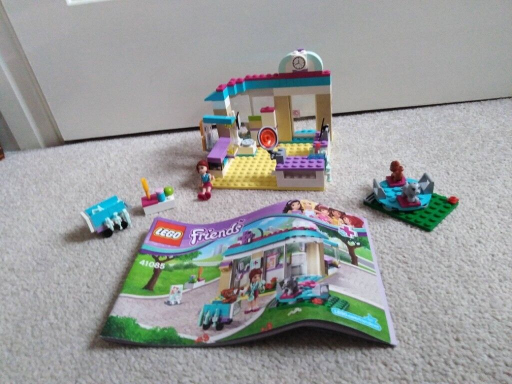 Lego Friends Vet Clinic Lego Reference Number 41085 Perfect