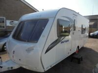 2011 sterling 545 europa, 4 berth, 1 owner, end wash room, lovely condition inside and out.
