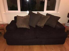 2 x large sofas