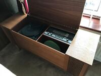 Furniture piece - radio and record player
