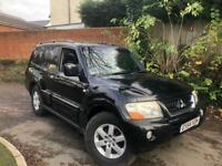 Mitsubishi Shogun 3.2 DI-D Elegance 5dr 7 seater, Service History, Fully loaded leathers, pan roof