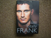 Frank Lampard Totally Frank book 2006 free pickup/1st class post £3