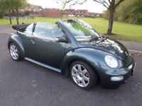 Rare VW New Beetle Convertible 1.8t