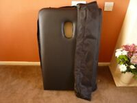 PORTABLE MASSAGE COUCH IN CARRY CASE. EXCELLENT CONDITION.