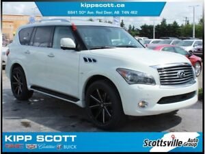 2014 Infiniti QX80 AWD, Technology Package, Leather, Loaded
