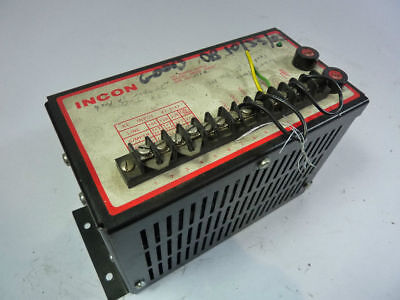 Incon 99004-000001 Dc Power Supply 15vdc Used