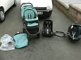 Graco sky travel system and car seat