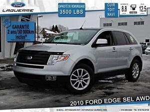 2010 Ford Edge **SEL*AWD*CUIR*TOIT*CRUISE*A/C*SIÈGES CHAUFFANTS*