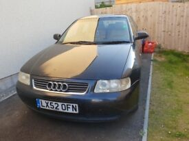 NOW SOLD Audi A3 2002. 1.9 tdi diesel. SPARES OR REPAIRS