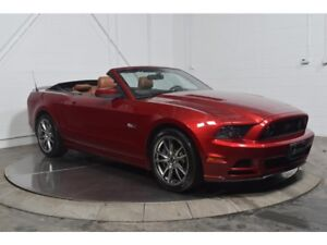 2014 Ford Mustang GT PREMIUM CONVERTIBLE CUIR MAGS 19P