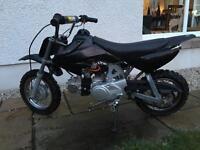 Honda crf 50 replica 110cc engine semi auto pit bike pitbike perfect condition £300 no offers