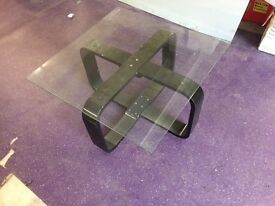 Brand new glass coffee tables
