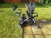 2seater push chair