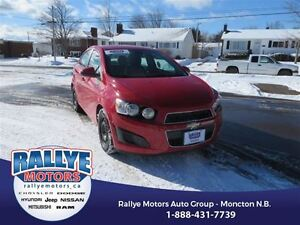 2013 Chevrolet Sonic LS! Low KMS! Trade In! Save!