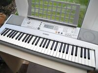 YAMAHA PSR-E303 MUSIC KEYBOARD WITH MUSIC STAND POWER SUPPLY