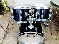 Vintage 1980s Kings drum kit