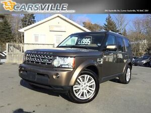 2010 Land Rover LR4 HSE LUX Package. Top of the Line!!