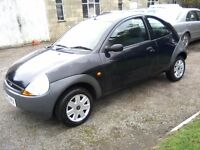 FORD KA 1-3. 2005. 56,000 MILES, SERVICE HISTORY, 1 PREVIOUS OWNER, JUNE 24th 2017 MOT, ANY TRIAL.