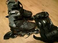 Roller and skate protection pack