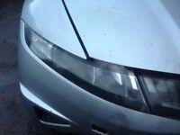 HONDA CIVIC 2006-12 HEADLIGHTS - DRIVER AND PASSENGER