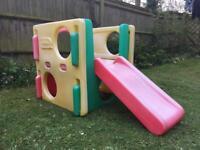 Child's play slide